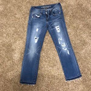 American Eagle cropped pants